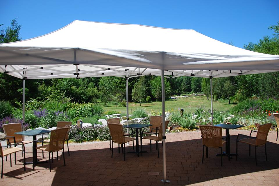 Tent Rentals at the Garden Pavilion