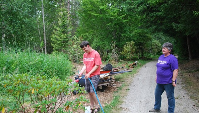 Handwatering Volunteers Needed
